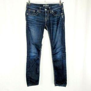 Silver Jeans  Aiko Skinny Dark Wash T1167